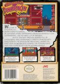 Defenders of Dynatron City NES Back Cover