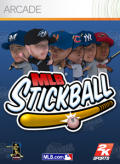 MLB Stickball Xbox 360 Front Cover