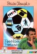 Brian Clough's Football Fortunes Amstrad CPC Front Cover