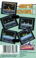 Game Over II MSX Back Cover