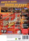 The King of Route 66 PlayStation 2 Back Cover