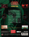 Chaos Control CD-i Back Cover