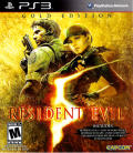 Resident Evil 5: Gold Edition PlayStation 3 Front Cover