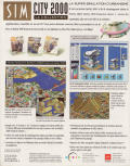 SimCity 2000: CD Collection DOS Back Cover