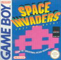 Space Invaders Game Boy Front Cover
