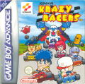 Konami Krazy Racers Game Boy Advance Front Cover