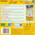 Konami Krazy Racers Game Boy Advance Back Cover