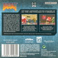 DOOM Game Boy Advance Back Cover
