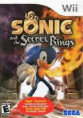 Sonic and the Secret Rings Wii Front Cover