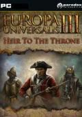 Europa Universalis III:  Heir to the Throne Windows Front Cover