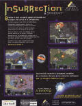 Insurrection: Campaigns for StarCraft Windows Back Cover