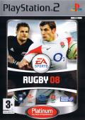 Rugby 08 PlayStation 2 Front Cover