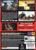 Red Dead Redemption (Special Edition) Xbox 360 Back Cover