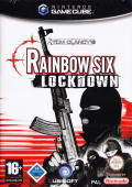 Tom Clancy's Rainbow Six: Lockdown GameCube Front Cover