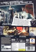 Tom Clancy's Splinter Cell: Double Agent Windows Back Cover