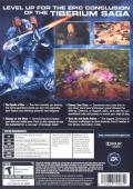 Command & Conquer 4: Tiberian Twilight Windows Back Cover