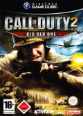 Call of Duty 2: Big Red One GameCube Front Cover