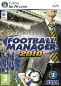 Football Manager 2010 Macintosh Front Cover