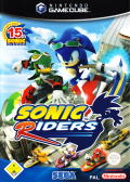 Sonic Riders GameCube Front Cover