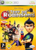 Meet the Robinsons Xbox 360 Front Cover