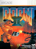 DOOM II Xbox 360 Front Cover