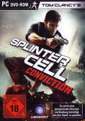 Tom Clancy's Splinter Cell: Conviction Windows Front Cover