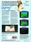 Osprey! Commodore 64 Back Cover