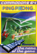 Ping Pong Commodore 64 Front Cover