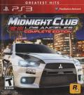 Midnight Club: Los Angeles (Complete Edition) PlayStation 3 Front Cover