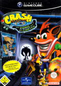 Crash Bandicoot: The Wrath of Cortex GameCube Front Cover