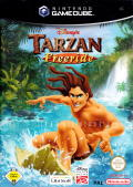 Disney's Tarzan Untamed GameCube Front Cover