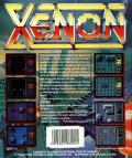 Xenon MSX Back Cover