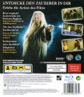 Harry Potter and the Half-Blood Prince PlayStation 3 Back Cover