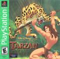 Disney's Tarzan PlayStation Front Cover