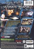 Psi-Ops: The Mindgate Conspiracy Xbox Back Cover
