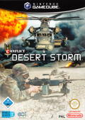 Conflict: Desert Storm GameCube Front Cover