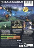 MechAssault 2: Lone Wolf Xbox Back Cover