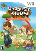 Harvest Moon: Tree of Tranquility Wii Front Cover