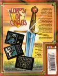 Lords of Chaos ZX Spectrum Back Cover
