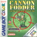 Cannon Fodder Game Boy Color Front Cover