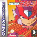 Mega Man Zero 3 Game Boy Advance Front Cover