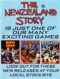 The New Zealand Story ZX Spectrum Inside Cover