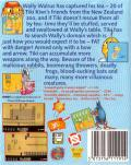The New Zealand Story ZX Spectrum Back Cover
