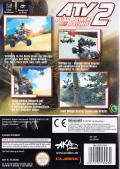ATV: Quad Power Racing 2 GameCube Back Cover