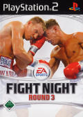 Fight Night Round 3 PlayStation 2 Front Cover