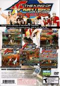 The King of Fighters Collection: The Orochi Saga PlayStation 2 Back Cover