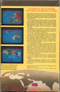 Colonial Conquest Atari ST Back Cover