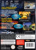 Hot Wheels: Velocity X GameCube Back Cover