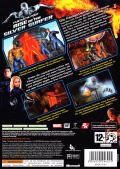Fantastic Four: Rise of the Silver Surfer Xbox 360 Back Cover