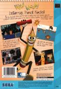 Wild Woody SEGA CD Back Cover